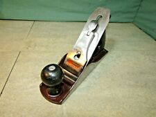 Stanley Handyman No 4 wood plane. Sharpened. Woodworking.