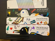 Pantone Color Guides In Zip Case Formula Guide Process Solid To Process 1990s