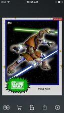 Topps Star Wars Digital Card Trader ? Pong Krell S4 Base Variant Insert