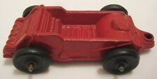 """Antique Rubber Toy Farm Implement 5"""" Arcor Manure Spreader 1930s Nice!"""