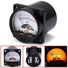 6-12V panel VU meter bulb warm back light recording audio level amp meter ES