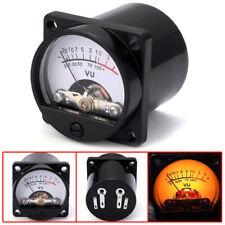 6-12V panel VU meter bulb warm back light recording audio level amp meter lx