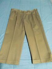 Mens Croft & Barrow 42 x 29 Khaki Pleated Comfort Waist Khaki Pants New NWT