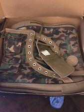 Camo Converse Hi-Top boot Army Camouflage