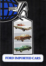 FORD USA & Australia 1976 UK mercato opuscolo Mustang Fairmont Lincoln Mercury