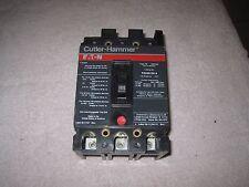 Cutler Hammer Fs Fs320100A 3 Pole 100 Amp Circuit Breaker Chipped