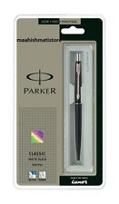 Parker Classic Matte Black CT Ball Pen Free Shipping