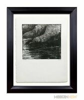 Henry MOORE - HAND SIGNED - Lithograph ORIGINAL Ltd. Ed. no.72 w/ +Custom FRAME