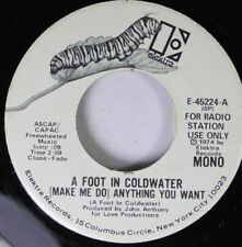 Rock Promo 45 John Anthony - A Foot In Coldwater (Make Me Do) Anything You Want