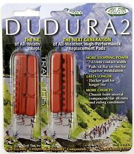 2 Packs Kool-Stop Dura2 Road Brake Pads Shoes WET Condition SRAM/SHIMANO SALMON