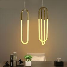 Rudi Double Loop Chandelier LED Ceiling Light Lamp Living Room Office New