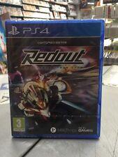 RedOut Lightspeed Edition Ita PS4 NUOVO SIGILLATO