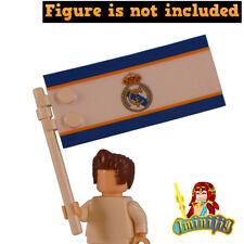 Custom LEGO Football Soccer Real Madrid Flag