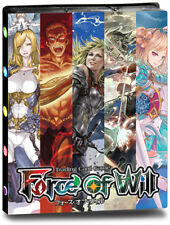 Force of Will 9 Pocket Pro-Binder Ultra Pro GAMING SUPPLY BRAND NEW ABUGames