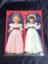 VINTAGE ORIGINAL The Little Fairy Paper Dolls by Merrill Pub.  1951, EXCELLENT