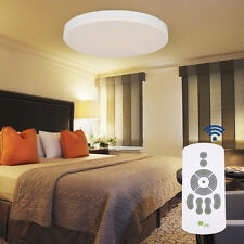 LED Ceiling Light 24W Smart Flush Mount Fixture Lamp Wireless Remote Control New