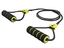 Expander inklusive Gebrauchsanweisung mit Übungsbeispielen schwarz gelb Fitness