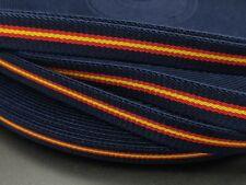 Cinta bandera España ELASTICA 1,5cm Española pulseras cordon tela elástica