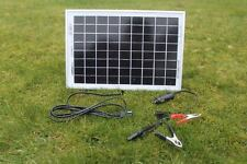 10 W MONOCRYSTALLINE  SOLAR PANEL 10 WATTS  BATTERY CHARGER  12V PV-with DIODE