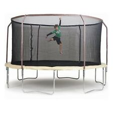 Trampoline 14ft Steelflex Pro Enclosure Combo Set Bounce Round Safety Springless