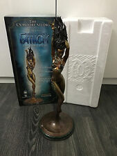 Cs moore fathom faux bronze limited edition statue peinte Marvel sample aspen