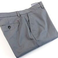 TOMMY HILFIGER Chinos Men's Stretch Slim Fit Smoked Pearl Grey 7899582-036