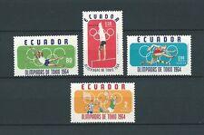 LATIN AMERICA - ECUADOR - 1964 MI 1158 à 1161 -  TIMBRES NEUFS** MNH LUXE