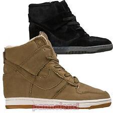 Zapatos Mujer Gimnasia Zapatillas Deportivos Cuña Interior 7CM Nuevos 036-MOD