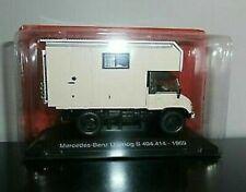 Motorhome  MERCEDES UNIMOG S 404.114 1:43 New & Box diecast model camper