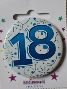 18th BIRTHDAY BADGE