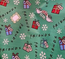 Friends Central Perk Christmas Gift wrap Wrapping Paper 40sqft Flat