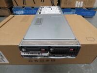 445105-B21 HP BL465c G5 Blade Server Quad Core 2.3GHz 18GB Ram 2x146GB HDD #B52