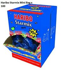 HARIBO SWEETS STARMIX MINI PACKS WHOLESALE BOX 100 BAGS WEDDING CART PARTY