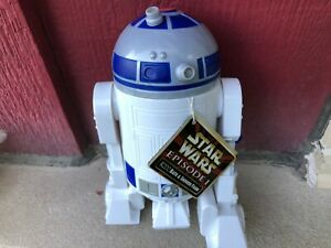 (S16-027) EUROPEAN STAR WARS R2-D2 MAUL SOAKY - GREAT CONDITION w/tag