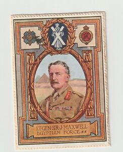 Lord Roberts Memorial 1916 Appeal- Lt-Gen Sir J. Maxwell Egypt force, poster sta