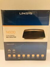 Linksys E2500 N600 Dual-Band WiFi Router New