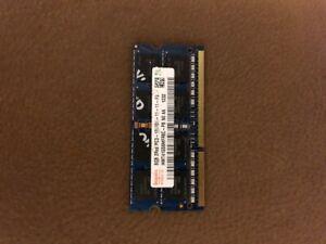 barrette de ram 8Go / mémoire ram ddr3 8Gb / Pc3 12800S 8go / Sodimm hynix