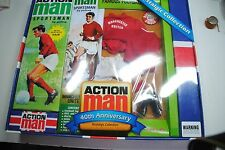 """ACTION MAN GI JOE 40TH """"SPORTSMAN  MANCHESTER UNITED   """"OUTFIT   MIB"""
