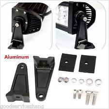 Universal  Aluminum LED Work Light Bar Side Mounting Bracket Heavy Duty Die-cast