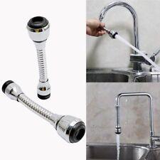 Kitchen Sink Faucet Sprayer Taps Attachment Spout Flexible Double Swivel