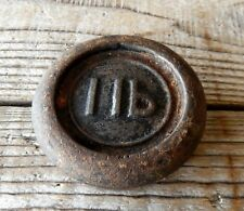Vintage 1lb Cast Iron Weight for Kitchen Weighing Scale Kitchenalia #2