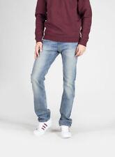Jeans da uomo taglio classico, dritto regolare taglia 50