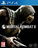 Mortal Kombat X (PS4) MINT - FAST DELIVERY