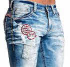 Affliction Men's Denim - ACE ARTIC Jeans - NEW - 110SS099 - Trenton Blue Wash