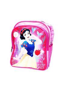 """Disney 12"""" Snow White Children Backpack School Bag Travel"""