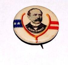 1904 ALTON PARKER campaign pin pinback button political presidential WISHBONE