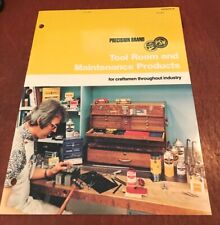 Precision Brand Tool Room and Maintenance Products Catalog Number 30 USED