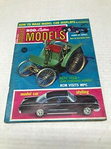 VINTAGE JANUARY 1965 ROD & CUSTOM MODELS VOL. 2 NO. 1 MAGAZINE