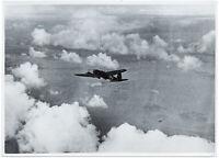 Heinkel He 111 in der Luft. Orig-Pressephoto, von 1940