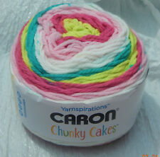 Caron Chunky Cakes in Sweet and Sour #17009 - New & Smoke Free Home